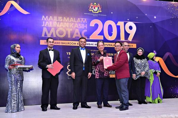 Majlis Malam Jalinan Kasih Motac 2019 Anugerah Perkhidmatan Cemerlang Ministry Of Tourism Arts And Culture Malaysia Official Portal